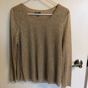 Tops - Gold blouse